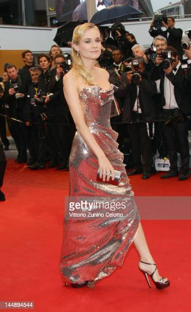 Actress Diane Kruger arrives at 'Amour' Premiere at the Palais des Festivals during the 65th Annual Cannes Film Festival on May 20 2012 in Cannes...