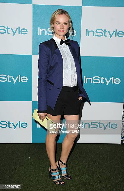 Actress Diane Kruger arrives at the 10th Annual InStyle Summer Soireeat held at The London Hotel on August 10 2011 in West Hollywood California