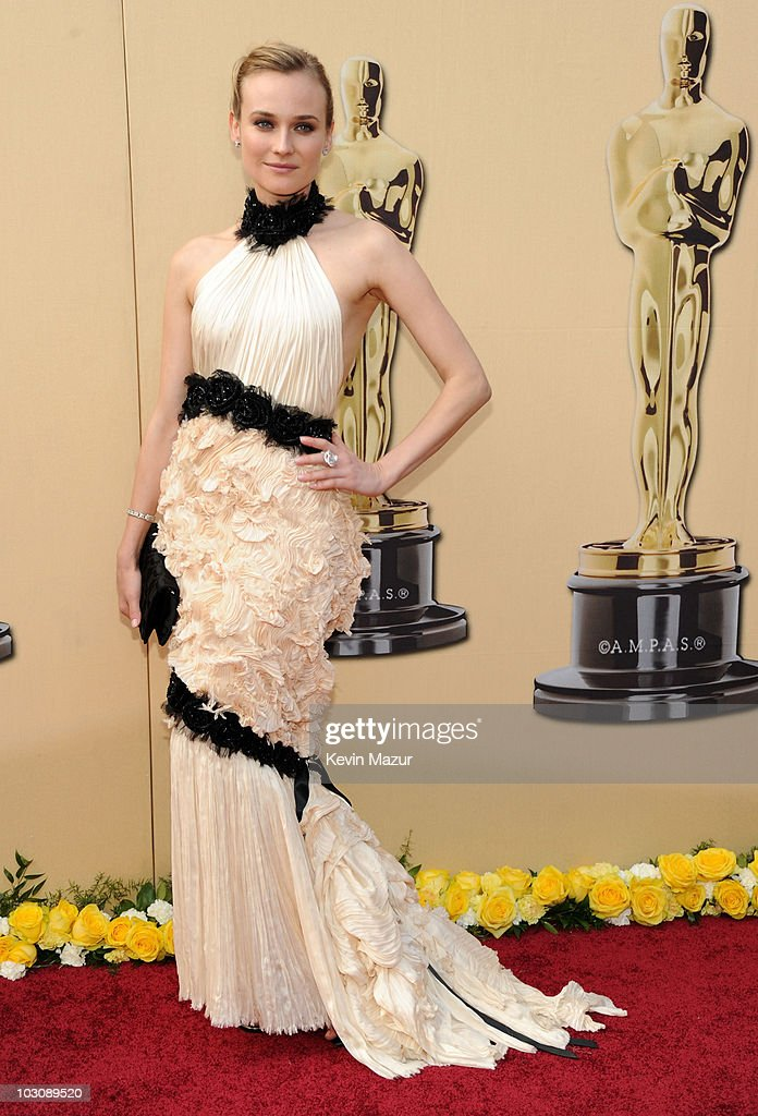 Actress Diane Kruger arrives at the 82nd Annual Academy Awards at the Kodak Theatre on March 7 2010 in Hollywood California
