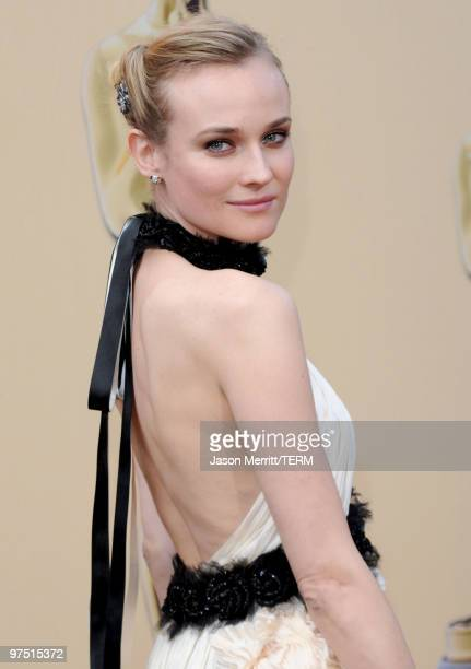 Actress Diane Kruger arrives at the 82nd Annual Academy Awards held at Kodak Theatre on March 7 2010 in Hollywood California