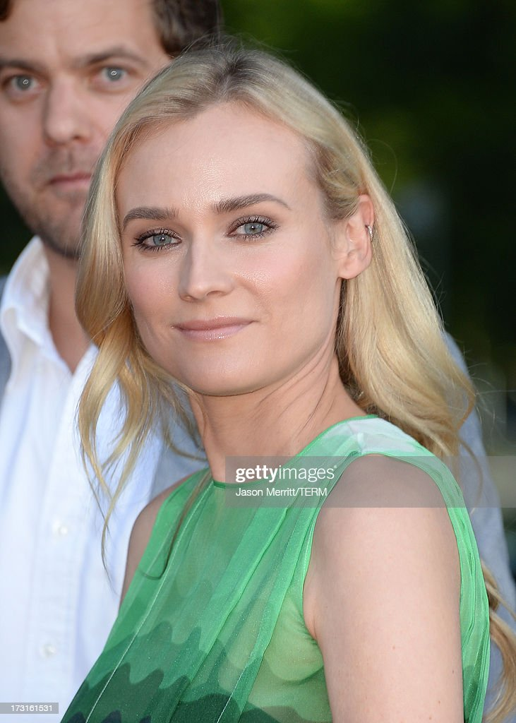 Actress Diane Kruger arrives at the series premiere of FX's 'The Bridge' at the DGA Theater on July 8, 2013 in Los Angeles, California.