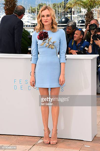 Actress Diane Kruger attends a photocall for 'Disorder' during the 68th annual Cannes Film Festival on May 16 2015 in Cannes France