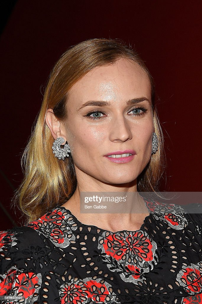 Actress Diane Kruger attends a screening of IFC Films' 'Disorder' hosted by The Cinema Society Chopard with Line 39 and Qui at Landmark Sunshine...