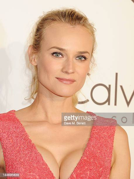 Actress Diane Kruger attends as The IFP Calvin Klein Collection euphoria Calvin Klein celebrate Women In Film during the 65th Cannes Film Festival at...