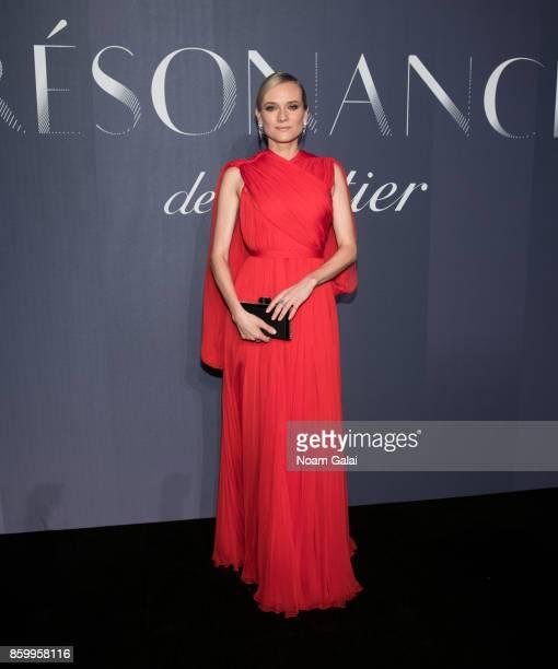 Actress Diane Kruger attends Cartier's celebration of Resonances de Cartier on October 10 2017 in New York City