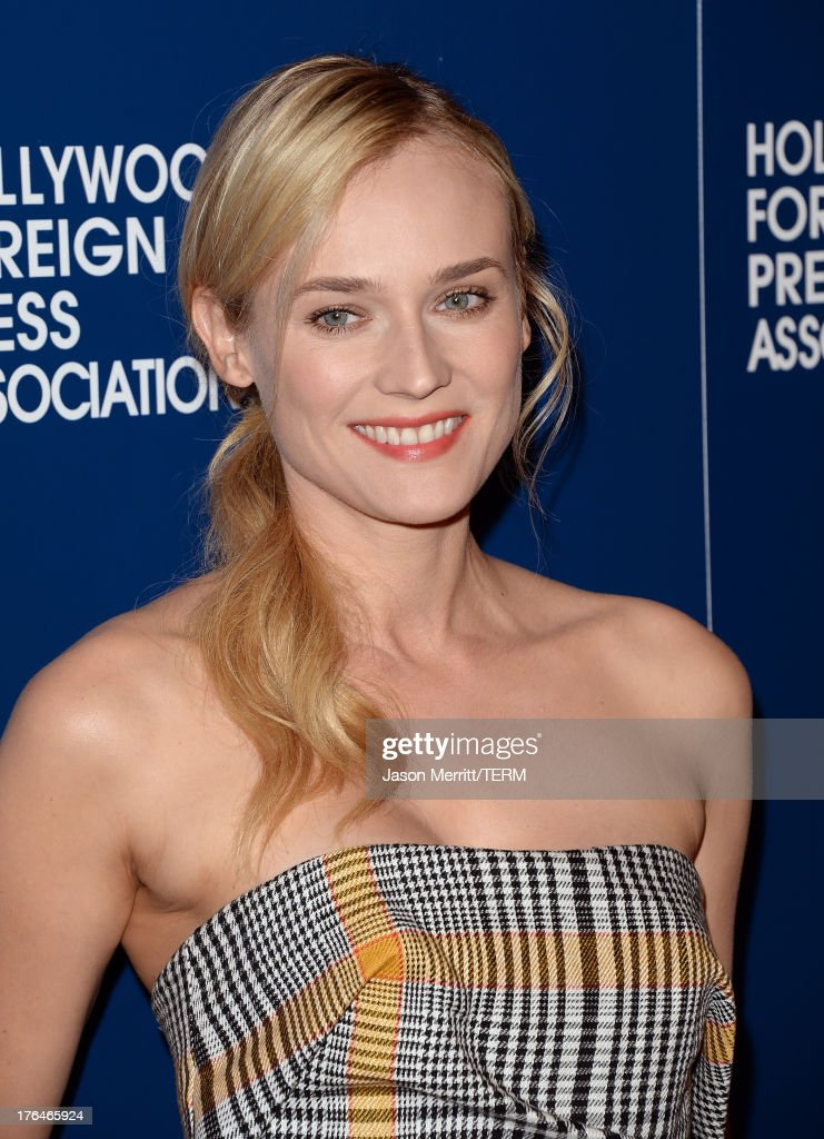 Actress Diane Kruger attends Hollywood Foreign Press Association's 2013 Installation Luncheon at The Beverly Hilton Hotel on August 13, 2013 in Beverly Hills, California.