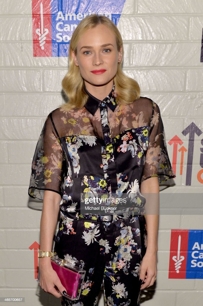 Actress Diane Kruger attends Hollywood Stands Up To Cancer Event with contributors American Cancer Society and Bristol Myers Squibb hosted by Jim Toth and Reese Witherspoon and the Entertainment Industry Foundation on Tuesday, January 28, 2014 in Culver City, California.