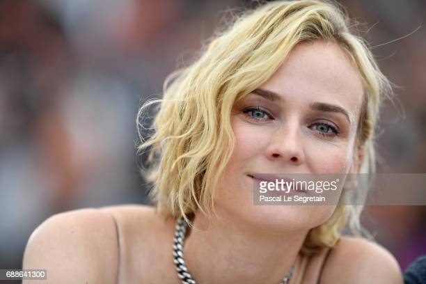 Actress Diane Kruger attends 'In The Fade ' Photocall during the 70th annual Cannes Film Festival at Palais des Festivals on May 26 2017 in Cannes...