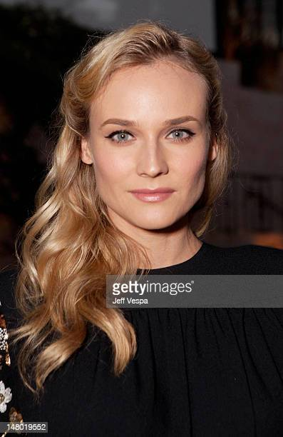 Actress Diane Kruger attends Lucrecia Martel's 'Muta' presented by MIU MIU at a private residence on July 19 2011 in Beverly Hills California