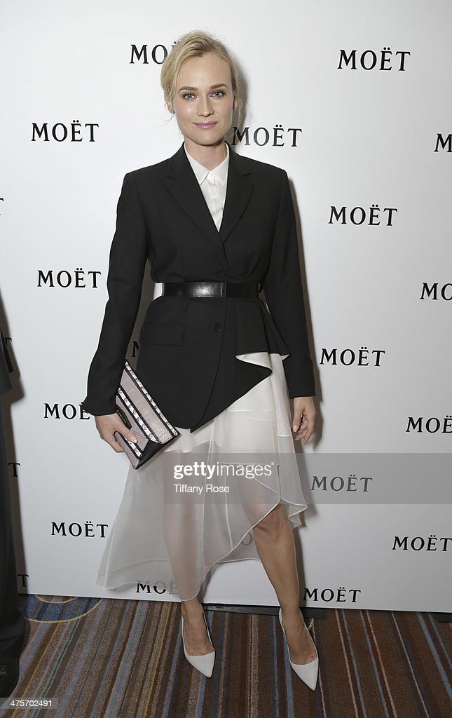 Actress <a gi-track='captionPersonalityLinkClicked' href=/galleries/search?phrase=Diane+Kruger&family=editorial&specificpeople=202640 ng-click='$event.stopPropagation()'>Diane Kruger</a> attends Moet At The 17th Annual National Hispanic Media Coalition Impact Awards at the Beverly Wilshire Four Seasons Hotel on February 28, 2014 in Beverly Hills, California.