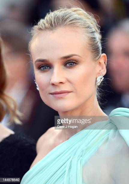 Actress Diane Kruger attends opening ceremony and 'Moonrise Kingdom' premiere during the 65th Annual Cannes Film Festival at Palais des Festivals on...