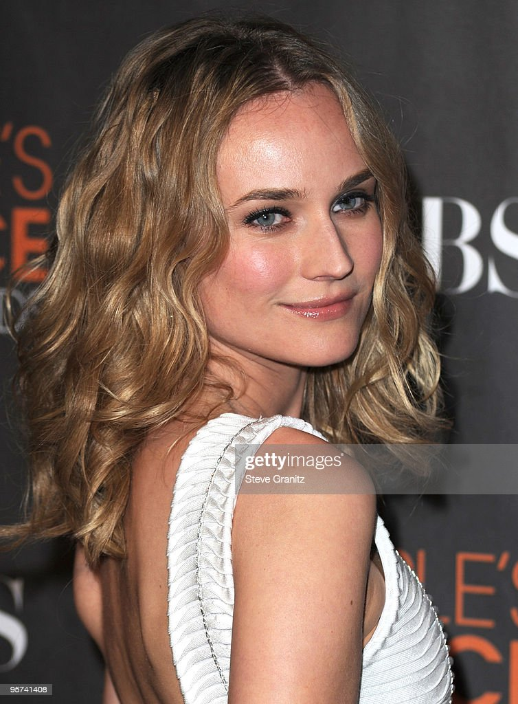 Actress Diane Kruger attends the 2010 People's Choice Awards at Nokia Theatre L.A. Live on January 6, 2010 in Los Angeles, California.