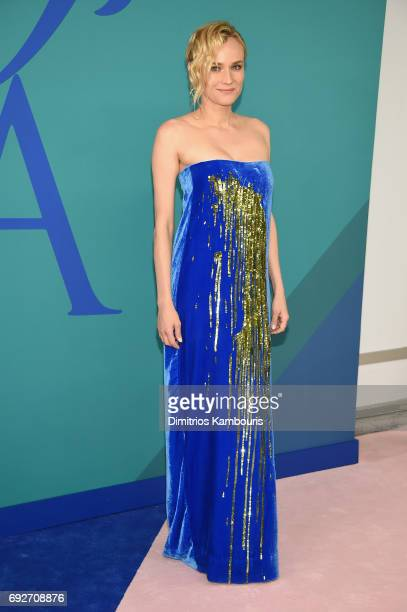 Actress Diane Kruger attends the 2017 CFDA Fashion Awards at Hammerstein Ballroom on June 5 2017 in New York City