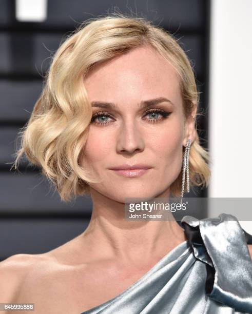 Actress Diane Kruger attends the 2017 Vanity Fair Oscar Party hosted by Graydon Carter at Wallis Annenberg Center for the Performing Arts on February...