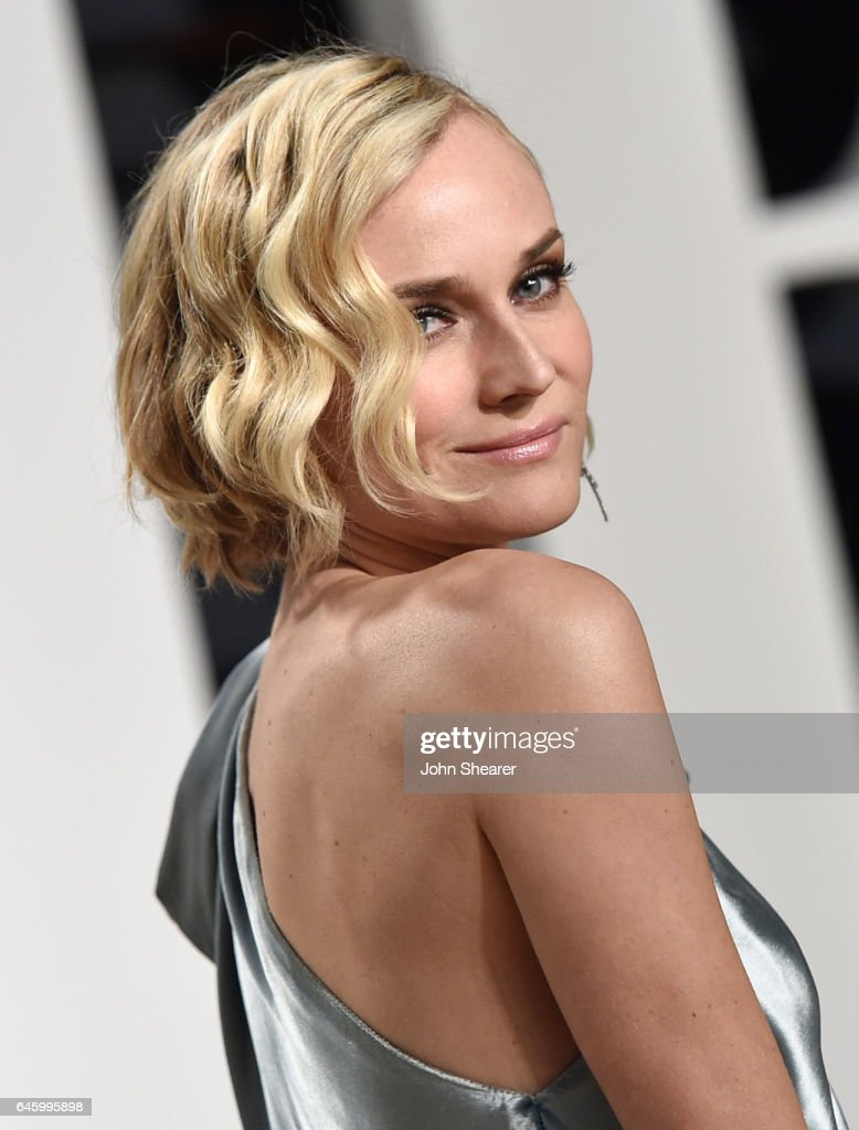 Actress Diane Kruger attends the 2017 Vanity Fair Oscar Party hosted by Graydon Carter at Wallis Annenberg Center for the Performing Arts on February 26, 2017 in Beverly Hills, California.