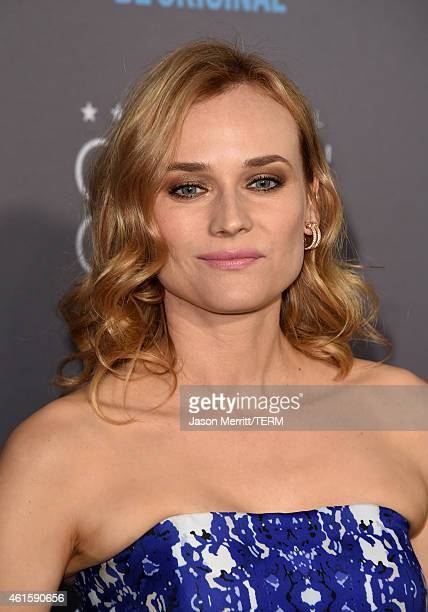 Actress Diane Kruger attends the 20th annual Critics' Choice Movie Awards at the Hollywood Palladium on January 15 2015 in Los Angeles California