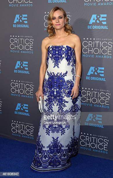 Actress Diane Kruger attends the 20th Annual Critics' Choice Movie Awards at the Palladium on January 15 2015 in Los Angeles California