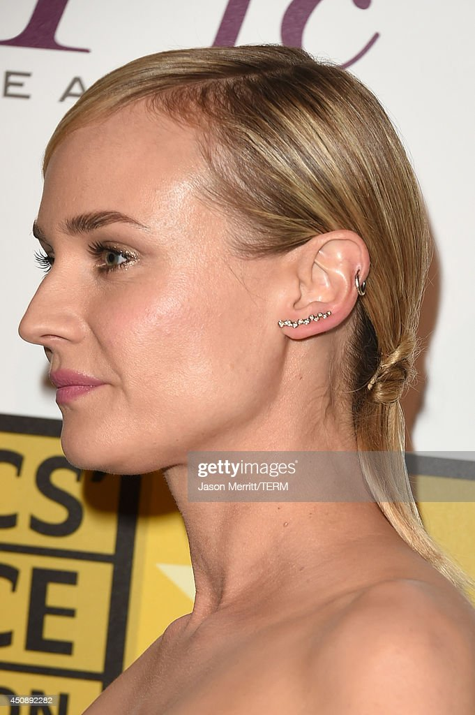 Actress Diane Kruger attends the 4th Annual Critics' Choice Television Awards at The Beverly Hilton Hotel on June 19, 2014 in Beverly Hills, California.