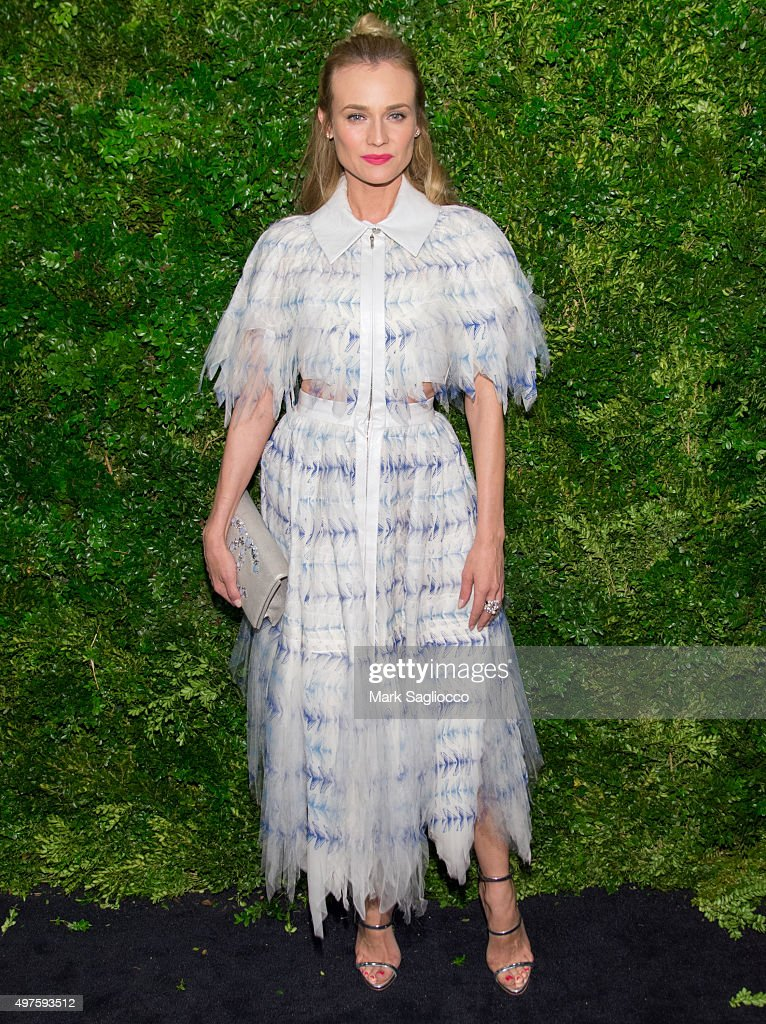 Actress Diane Kruger attends the 8th Annual Museum Of Modern Art Film Benefit Honoring Cate Blanchett on November 17, 2015 in New York City.