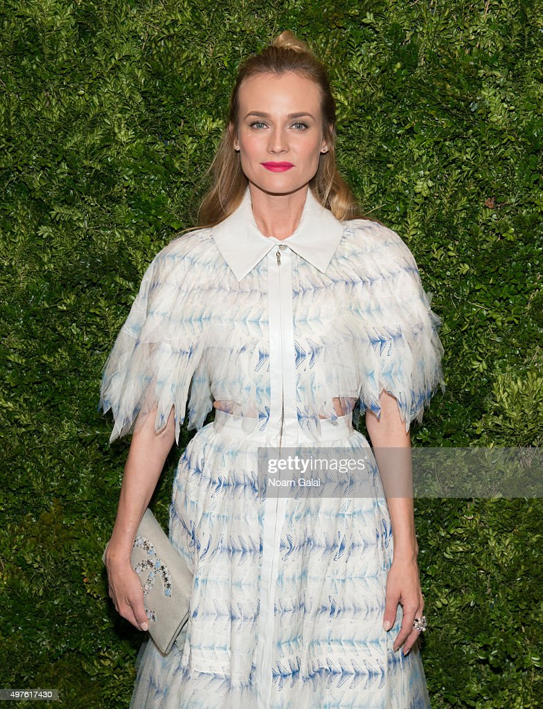 Actress Diane Kruger attends the 8th Annual Museum Of Modern Art Film Benefit honoring Cate Blanchett at Museum of Modern Art on November 17, 2015 in New York City.