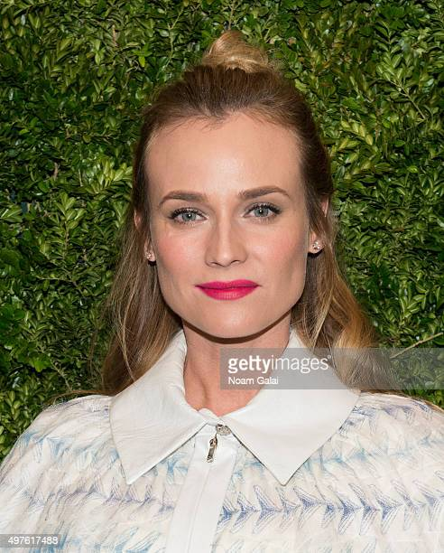 Actress Diane Kruger attends the 8th Annual Museum Of Modern Art Film Benefit honoring Cate Blanchett at Museum of Modern Art on November 17 2015 in...
