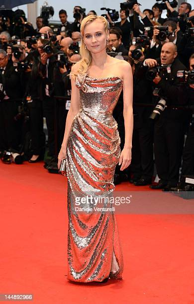 Actress Diane Kruger attends the 'Amour' Premiere during the 65th Annual Cannes Film Festival at Palais des Festivals on May 20 2012 in Cannes France