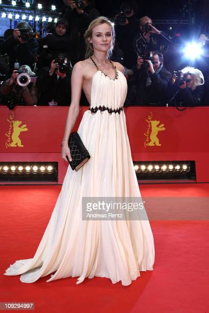 Actress Diane Kruger attends the Award Ceremony during day ten of the 61st Berlin International Film Festival at the Berlinale Palace on February 19...