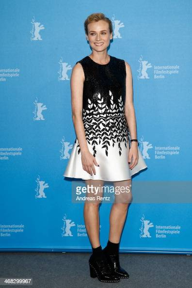 Actress Diane Kruger attends 'The Better Angels' photocall during 64th Berlinale International Film Festival at Grand Hyatt Hotel on February 10 2014...