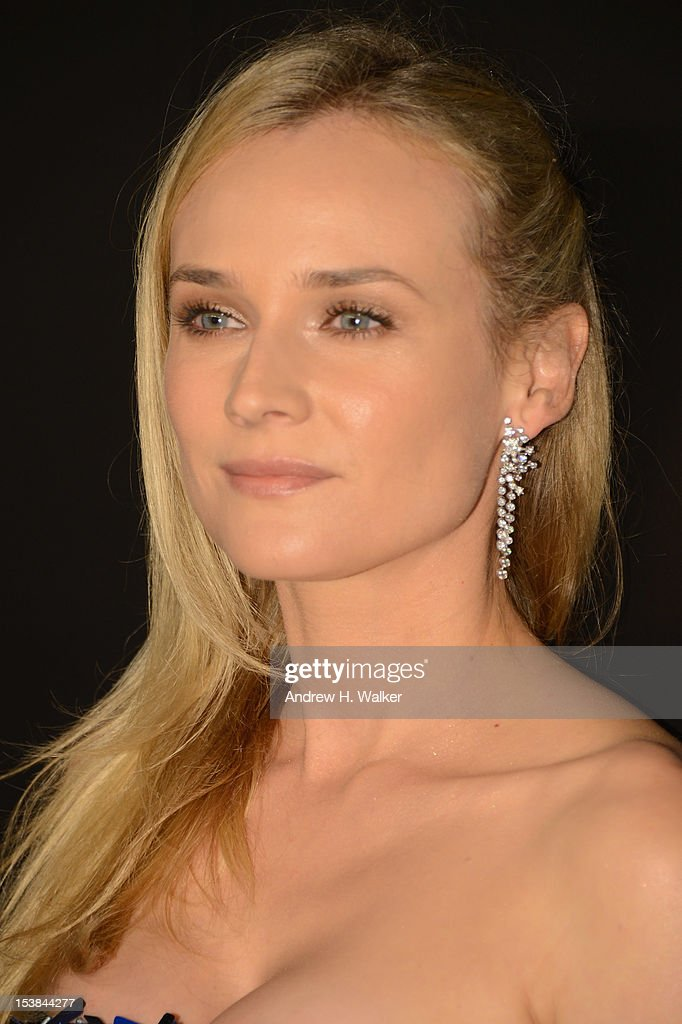 Actress Diane Kruger attends the celebration of CHANEL FINE JEWELRY'S 80th anniversary of the 'Bijoux De Diamants' collection created by Gabrielle Chanel on October 9, 2012 in New York City.
