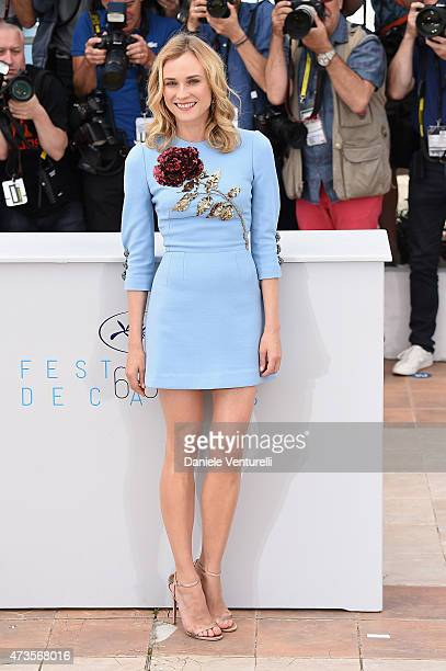 Actress Diane Kruger attends the 'Disorder' photocall during the 68th annual Cannes Film Festival on May 16 2015 in Cannes France