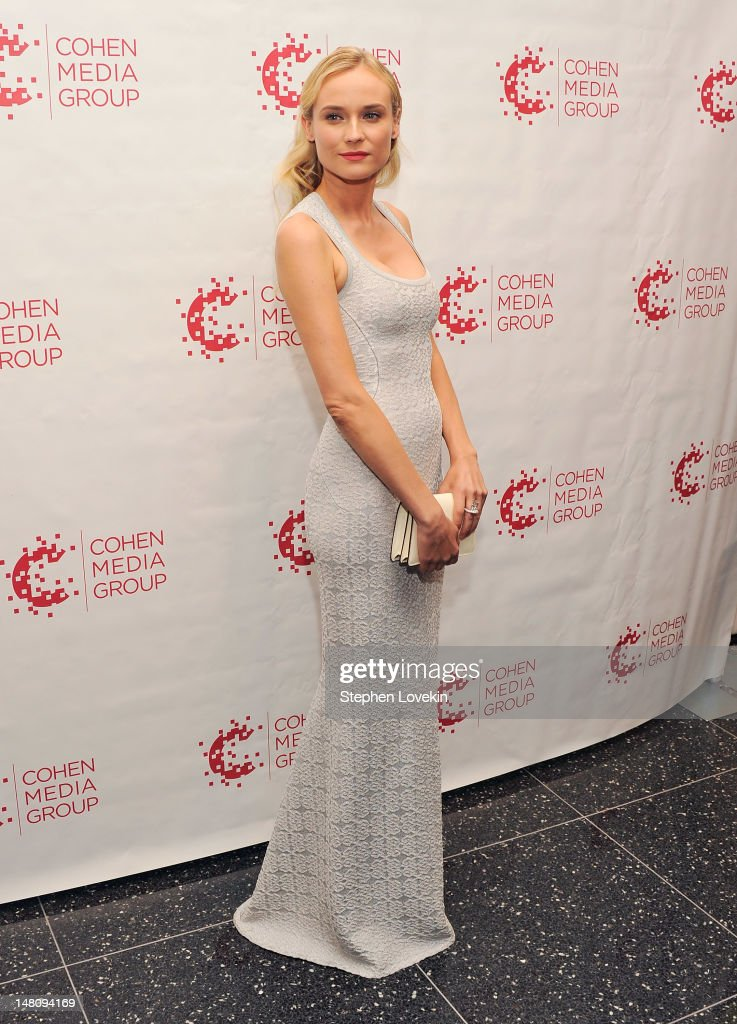 Actress Diane Kruger attends the 'Farewell, My Queen' New York Screening at MOMA on July 9, 2012 in New York City.