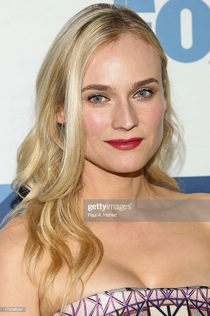 Actress Diane Kruger attends the Fox All-Star Party on August 1, 2013 in West Hollywood, California.