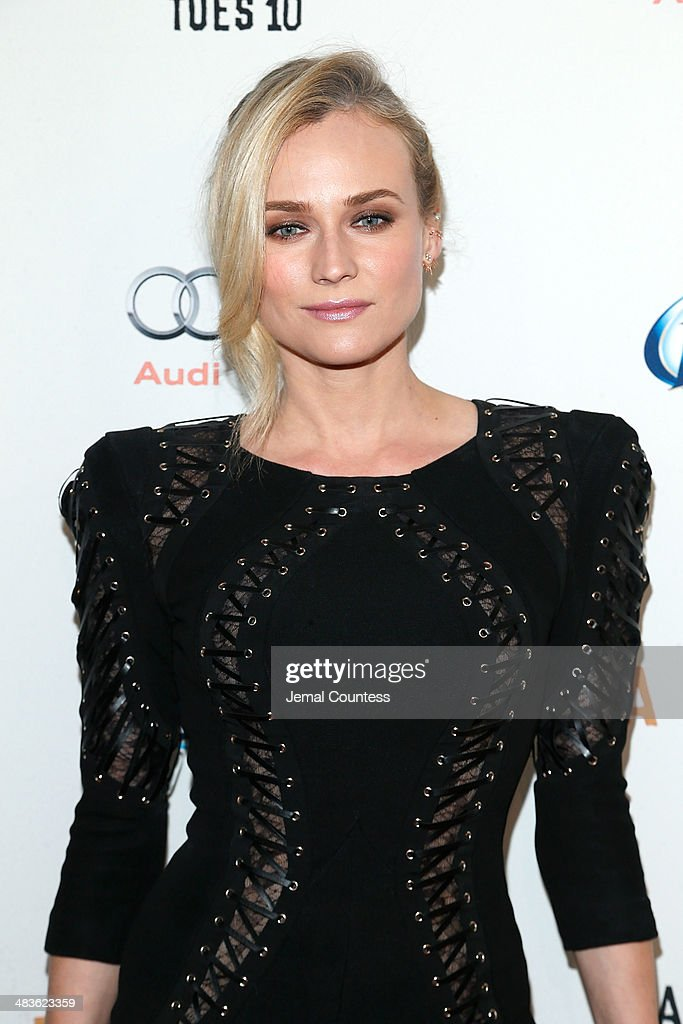 Actress Diane Kruger attends the FX Networks Upfront screening of 'Fargo' at SVA Theater on April 9 2014 in New York City
