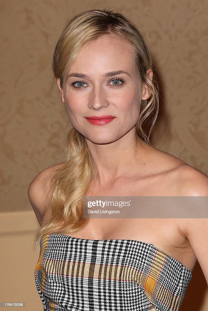 Actress <a gi-track='captionPersonalityLinkClicked' href=/galleries/search?phrase=Diane+Kruger&family=editorial&specificpeople=202640 ng-click='$event.stopPropagation()'>Diane Kruger</a> attends the Hollywood Foreign Press Association's 2013 Installation Luncheon at The Beverly Hilton Hotel on August 13, 2013 in Beverly Hills, California.