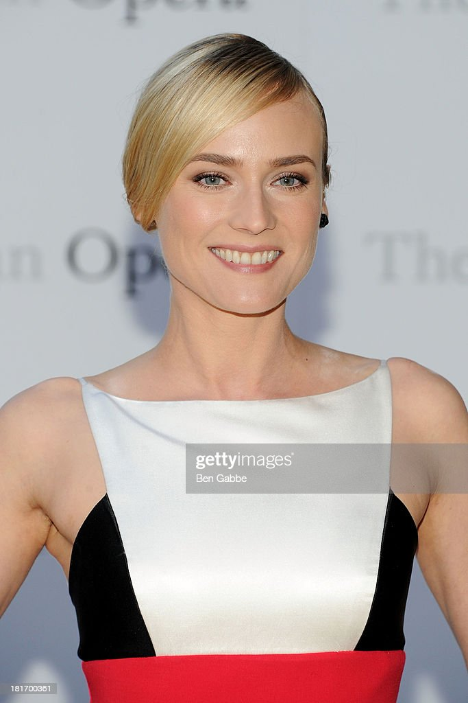 Actress Diane Kruger attends the Metropolitan Opera season opening production of 'Eugene Onegin' at The Metropolitan Opera House on September 23, 2013 in New York City.