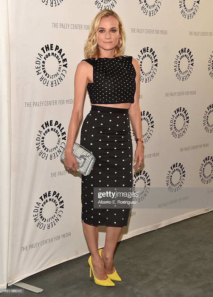 Actress <a gi-track='captionPersonalityLinkClicked' href=/galleries/search?phrase=Diane+Kruger&family=editorial&specificpeople=202640 ng-click='$event.stopPropagation()'>Diane Kruger</a> attends The Paley Center For Media Presents FX's 'The Bridge' at The Paley Center for Media on June 24, 2014 in Beverly Hills, California.