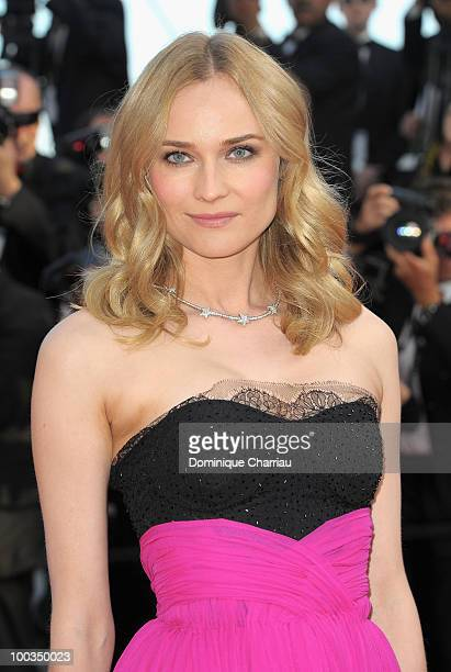 Actress Diane Kruger attends the Palme d'Or Closing Ceremony held at the Palais des Festivals during the 63rd Annual International Cannes Film...
