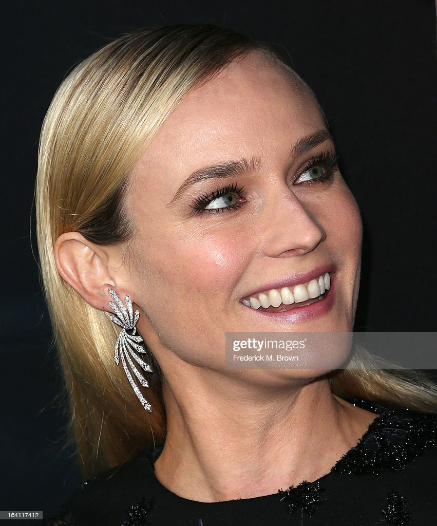 Actress Diane Kruger attends the Premiere of Open Roads Films 'The Host' at the ArcLight Cinemas Cinerama Dome on March 19, 2013 in Hollywood, California.