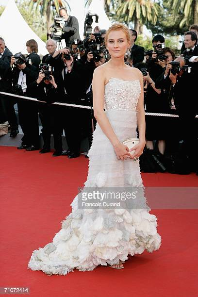 Actress Diane Kruger attends the premiere of 'Transylvania during the 59th International Cannes Film Festival closing ceremony at the Palais May 28...