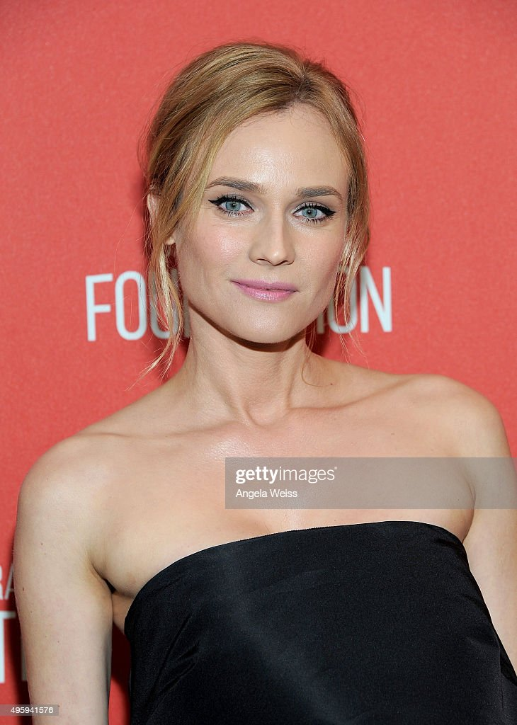 Actress <a gi-track='captionPersonalityLinkClicked' href=/galleries/search?phrase=Diane+Kruger&family=editorial&specificpeople=202640 ng-click='$event.stopPropagation()'>Diane Kruger</a> attends the Screen Actors Guild Foundation 30th Anniversary Celebration at Wallis Annenberg Center for the Performing Arts on November 5, 2015 in Beverly Hills, California.