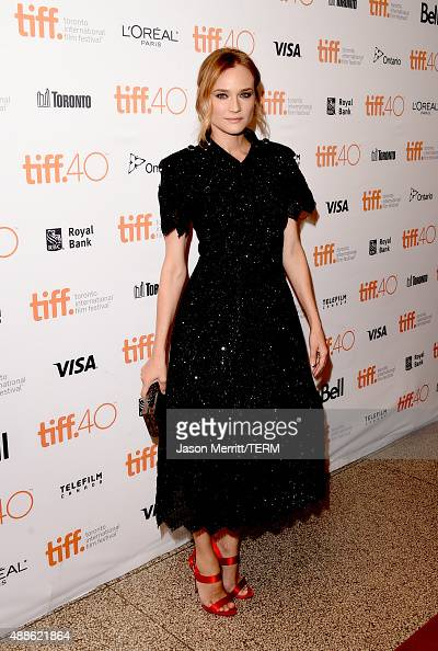 Actress Diane Kruger attends the 'Sky' photo call during the 2015 Toronto International Film Festival at The Elgin on September 16 2015 in Toronto...