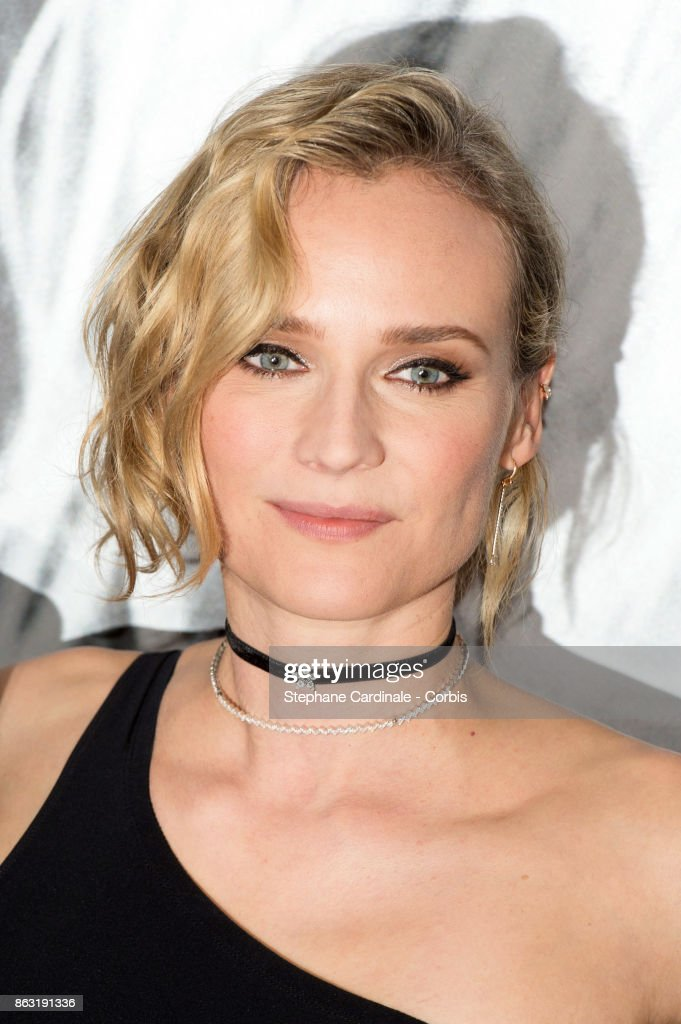 Actress Diane Kruger attends the 'Tout Nous Separe' Paris Premiere at UGC Cine Cite Bercy on October 19, 2017 in Paris, France.