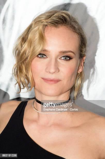 Actress Diane Kruger attends the 'Tout Nous Separe' Paris Premiere at UGC Cine Cite Bercy on October 19 2017 in Paris France
