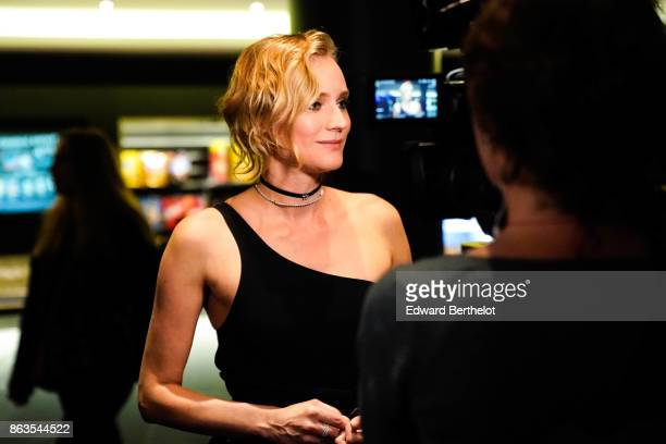 Actress Diane Kruger attends the 'Tout nous separe' Premiere at UGC Cine Cite Bercy on October 19 2017 in Paris France