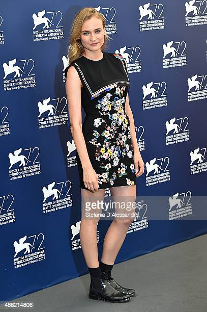 Actress Diane Kruger attends the Venezia 72 Jury Photocall during the 72nd Venice Film Festival on September 2 2015 in Venice Italy