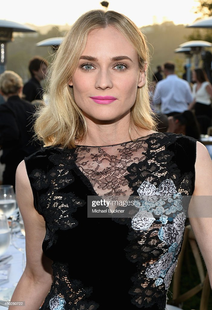 Actress Diane Kruger inside the 13th Annual Chrysalis Butterfly Ball sponsored by Audi, Kayne Anderson and Stella Artois on June 7th, 2014 in Los Angeles, California.