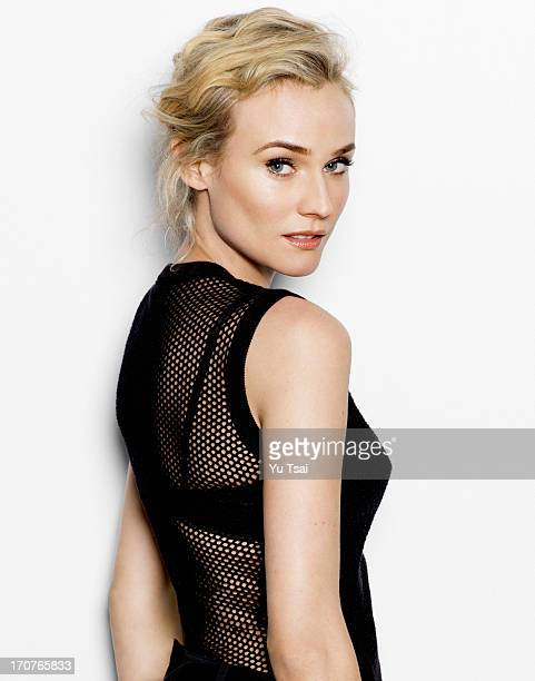 Actress Diane Kruger is photographed for Angeleno Magazine on December 11 2012 in Los Angeles California