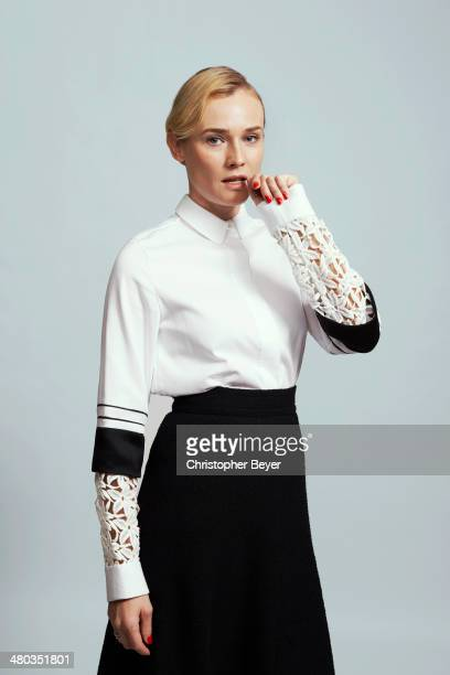 Actress Diane Kruger is photographed for Entertainment Weekly Magazine on January 25 2014 in Park City Utah