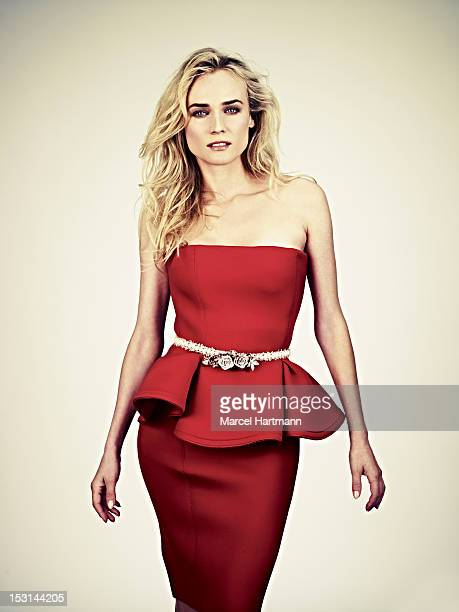 Actress Diane Kruger is photographed for Self Assignment on September 1 2012 in Paris France