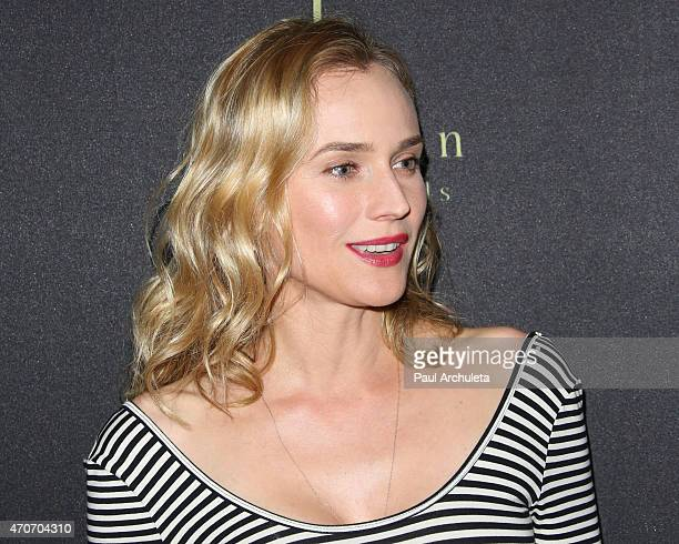 Actress Diane Kruger the Flaunt Magazine party celebrating the location issue with cult of individuality at Hakkasan Beverly Hills on April 21 2015...